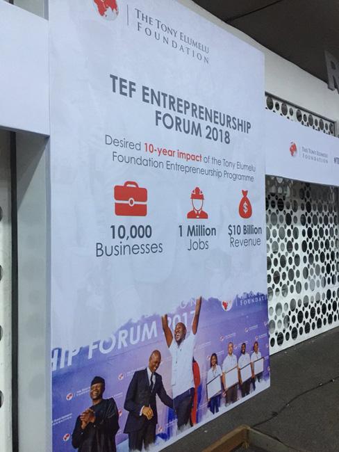 TEF Entrepreneurship Forum 2018