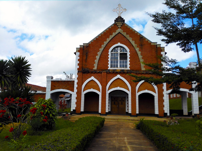 Kachebere Major Seminary chapel