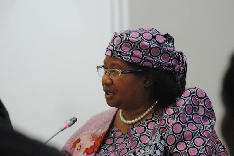 Joyce Banda, President of the Republic of Malawi