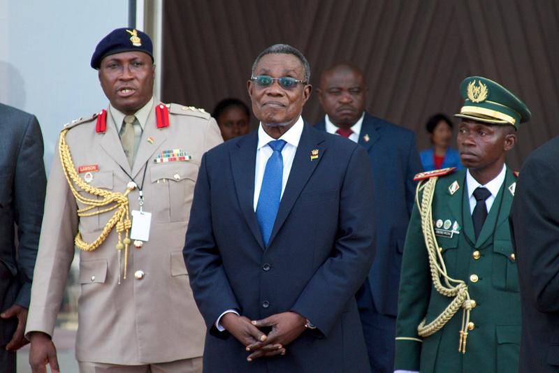 Ghana Late President John Atta Mills