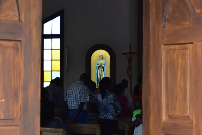 Divine Mercy Sanctuary in Kabuga, Kigali