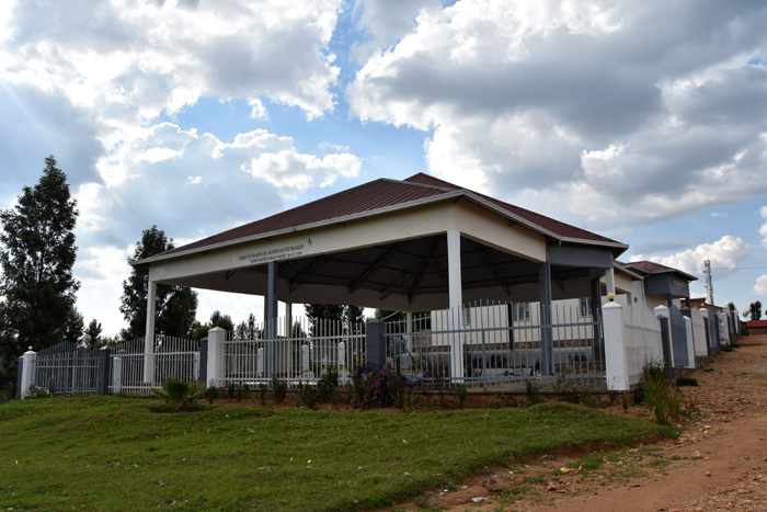 One of many genocide memorials in Kibeho
