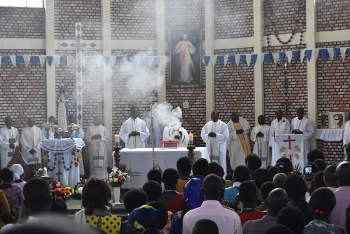 Mass in Sanctuaire Notre Dame de Kibeho