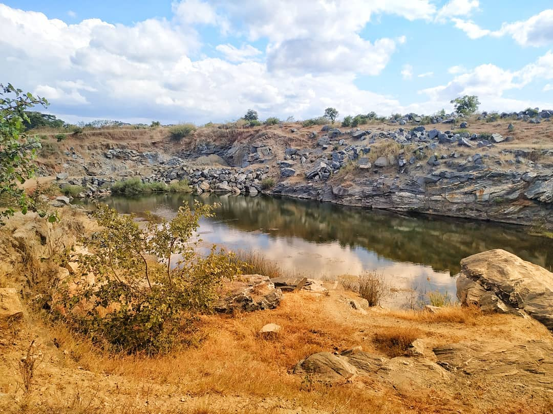 An old quarry in Ntchisi north