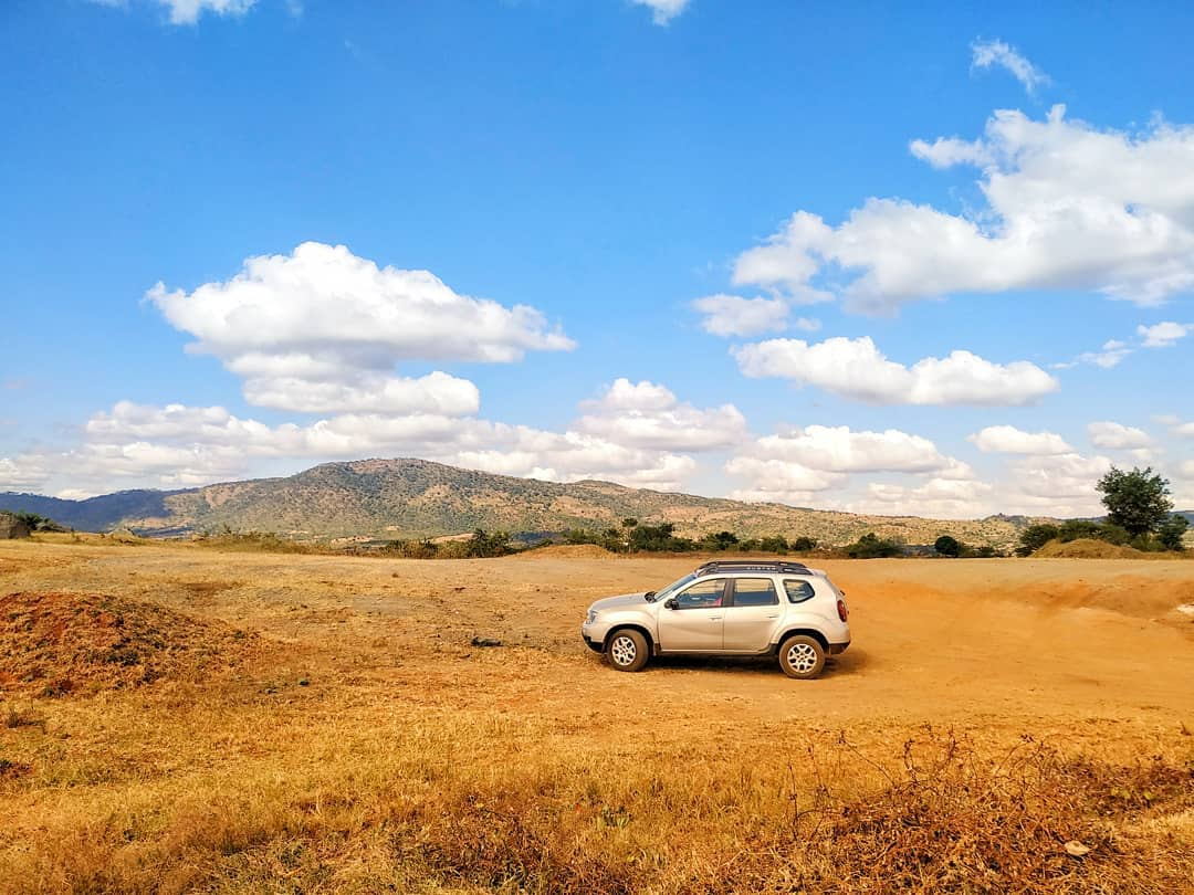 Our Renault Duster handled the sometime rocky terrain very well